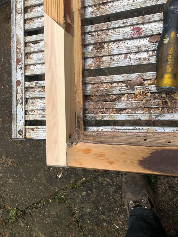 Timber Window Repair, Timber Splice