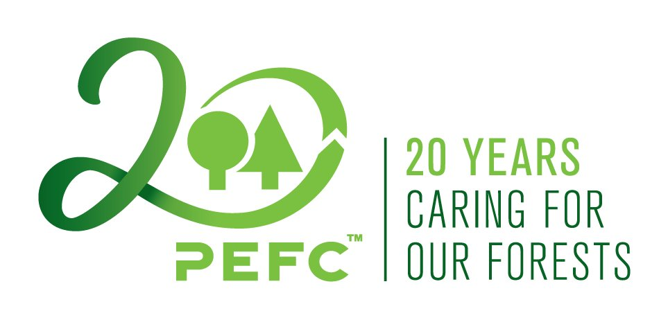 PEFC Certified - good for the environment