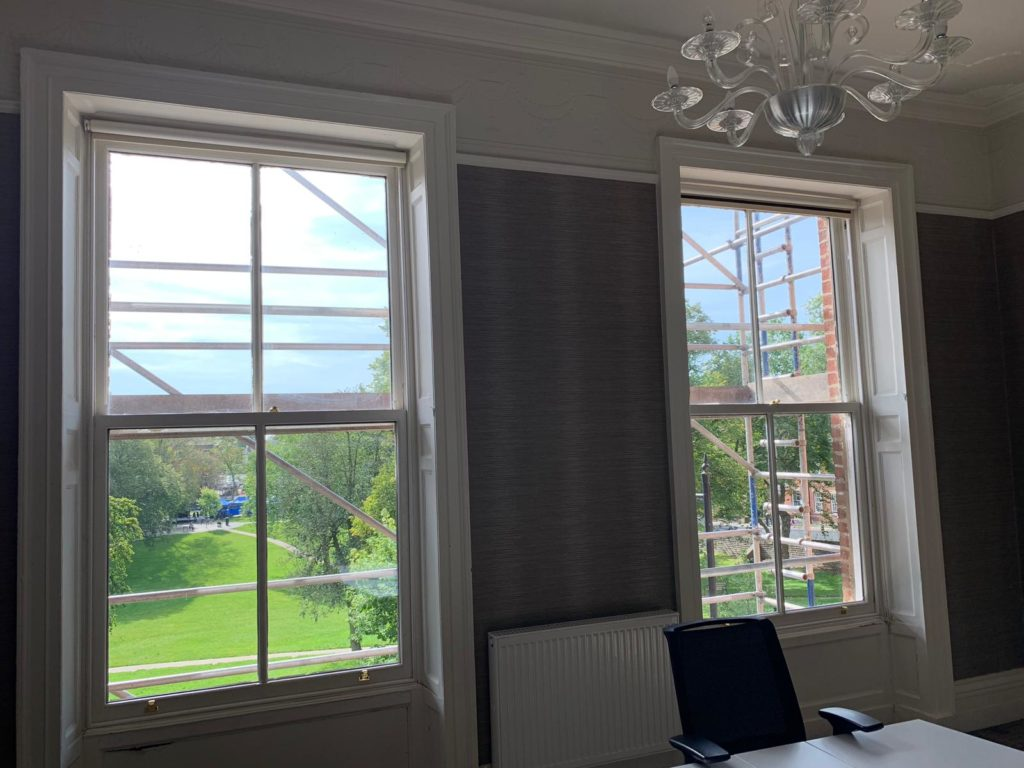 Winckley Square Sash Window Renovation 1